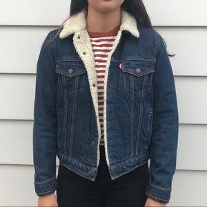 Levi's Women's Original Sherpa Trucker Jacket